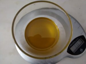 100g huile d'olive