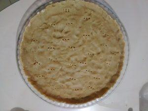 pâte de tarte sablée sans beurre