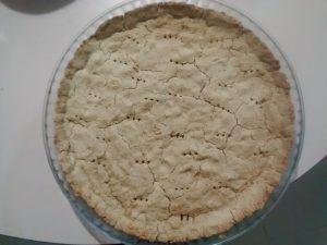 fond de tarte salée sans beurre