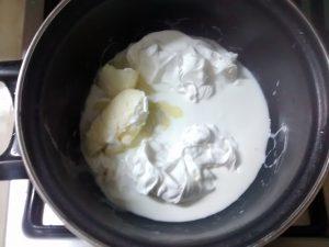 creme fraiche et beurre