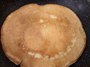 cuisson face pancake ricotta