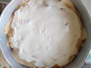 crepe lasagne couche sauce béchamel