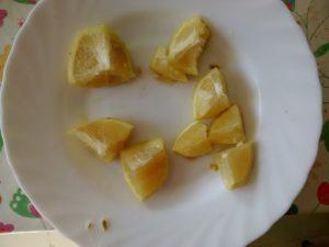 citron en cube