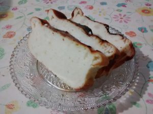 portion gâteau ricotta citron